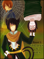 Ink round 1: Cover by iCassiekinz
