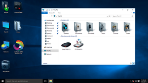 AERO GLASS IconPack for Win10 by hamed1987s