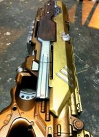 Steampunk Longstrike Progress by JohnsonArms