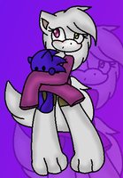 +{..A Kitty and Her Hedgie Plushie..}+ by xlightbluesnowflakex