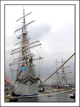 Unknown tall ship by ships-club