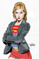 SuperGirl by jefterleite