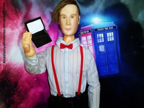 The Eleventh Doctor - BJD (With Physic paper ) by AnastasiyaKosenko