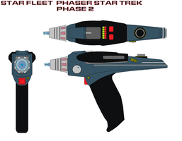 Star fleet  phaser star trek phase 2 by bagera3005