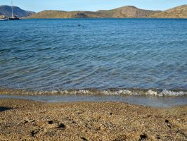 Beach. Elounda, Crete by Despina33