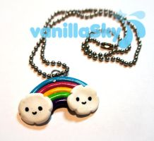 +Rainbow necklace+ by Vanilla00Sky