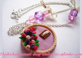 cake necklace by emily1707