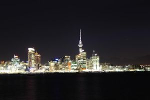Auckland at Night by drumgirl67