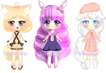 [AUCTION CLOSED] Adoptables by Barbew
