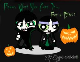 Buttercup+Butch Vampire by AfricanPrincess981
