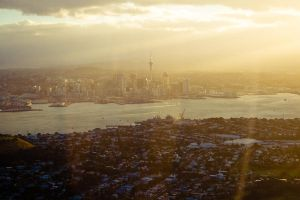 Sunset in Auckland City by kulesh