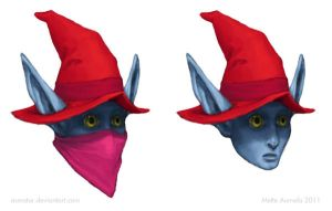 The Face of Orko by Osmatar