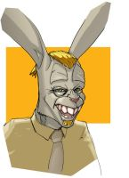 The Easter Bunny 04 by OliverHarud