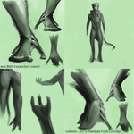 Alien Anatomy Concepts (2013) by 6ideon