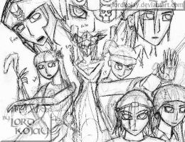 Sketch of our MS guild pic 1 by LordKojay
