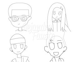 TH.Dolls Project Vector by alezzita