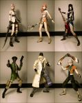 Final Fantasy 13 by kevsaxelle