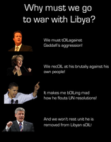 War with Libya by Party9999999
