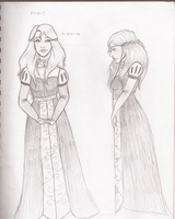 Random Sketches 4- Anais by Chloe-The-Great
