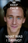 What was I saying? Tom Hiddleston by conejogalactiko