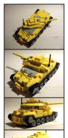 LEGO Battle Tank by Frohickey