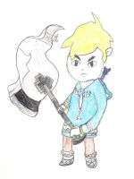 WW Link when he's angry by Malion
