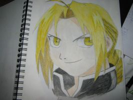 Edward Elric!!! by EmbryoHimeElric