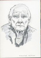 Maester Aemon by crisurdiales