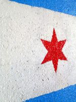 The Star is on the Wall in Chicago by RaCzarina