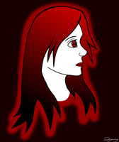 Red Girl by evilyowling