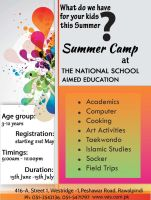 Flyer Summer camp by aashoo