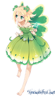 Anime Fairy Render by NinetailsFoxChan