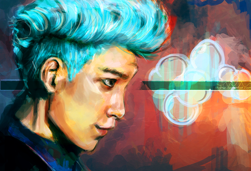 Blue [TOP] by chanso