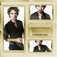 Pack Png de Robert Pattinson by maritzadelangel