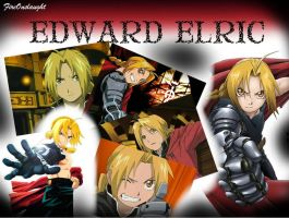 Full Metal Alchemist Collage by FireOnslaught