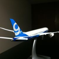 Boeing 787-9 Rollout Livery Rear View by Caprion