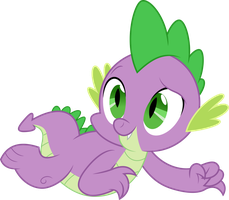 Vector #212 - Spike #8 by DashieSparkle