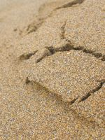 cracks in the sand by leahmcdonald