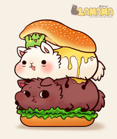 Hamburger by huiro