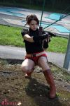 Claire Redfield RE2 cosplay V by Rejiclad