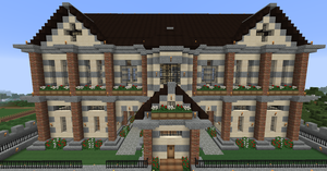 MC project 2.0 - the manor (front) by Maileksa