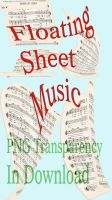 Floating Sheet Music - 5 Pack by markopolio-stock