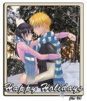 NaruHina: Winter Walk by JessLynne1227