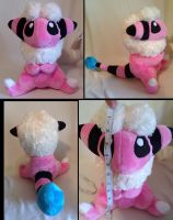 Flaaffy Pokemon Plush by LRK-Creations