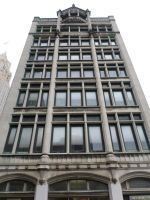 Looking Up: Newark Post Office Building by towerpower123