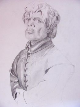 Tyrion Lannister (unfinished) by Billionairere