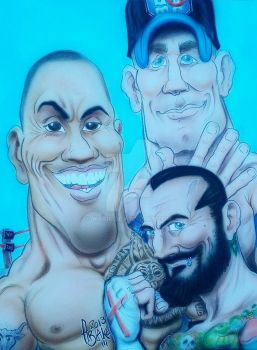 WWE Champions by Wraik