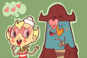 FLAPJACK FANART WHAT by Amb0rg