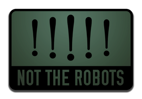 Not the robots icon by theedarkhorse