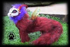 SOLD Dragon commission poseable art doll! by CreaturesofNat